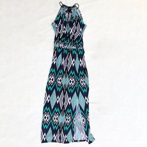 Laundry Patterned Maxi Rope Tie Straps